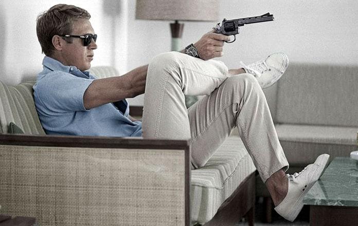 Steve McQueen style casual