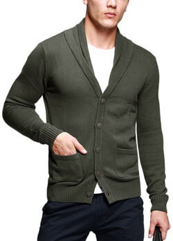 How to Wear a Mens Shawl Collar Sweater