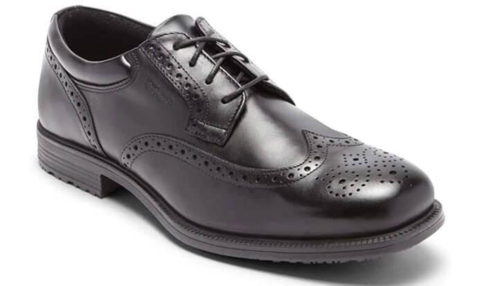 Rockport Men's Essential Details Waterproof Wingtip Oxford Shoe
