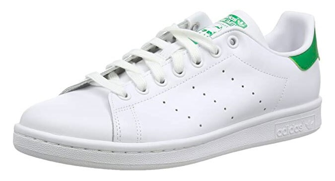 adidas Originals Mens Stan Smith Leather Sneakers