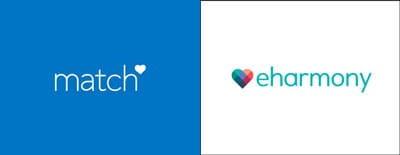 match and eharmony logos