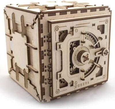 Mechanical 3D Puzzle Safe