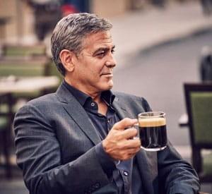 George Clooney Nespresso ad