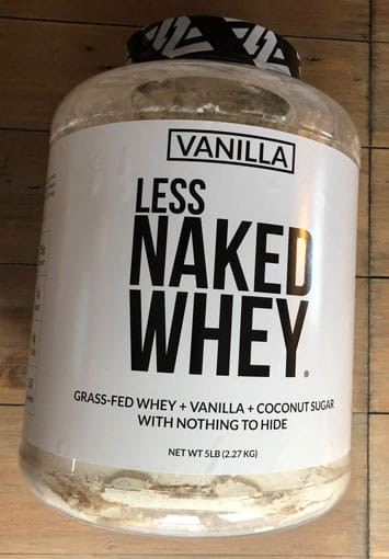 Naked Nutrition's Less Naked Whey Protein