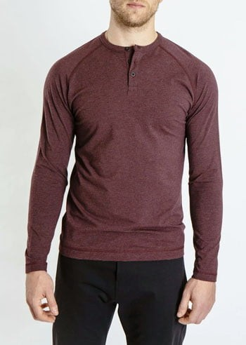 Public Rec men's long sleeve henley