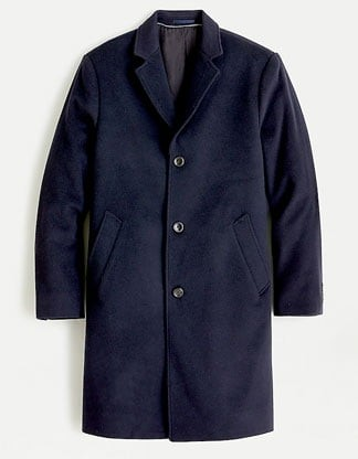 J.Crew Ludlow men's top coat