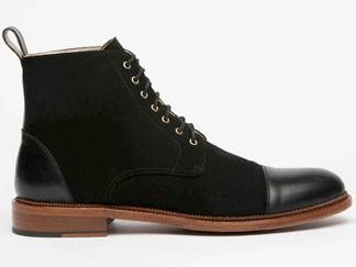 Taft Black dress boots