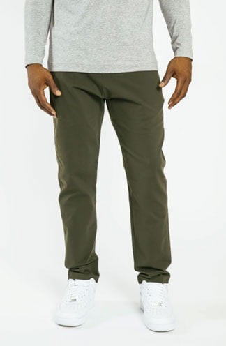Public Rec Men's green slim fit pants