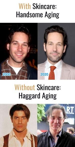 Paul Rudd aging