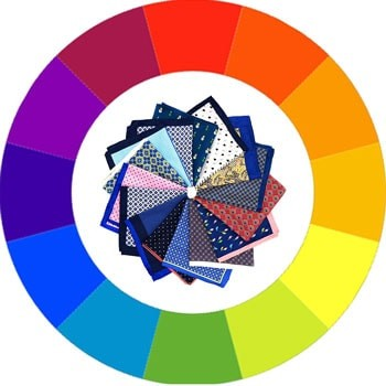 The Color Wheel and Circle of Pocket Squares