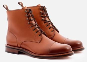 Beckett Simonon Cap toe boots
