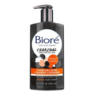 Biore Charcoal Acne Daily Cleanser