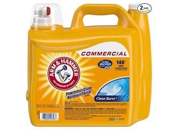 Arm & Hammer Clean Burst laundry detergent