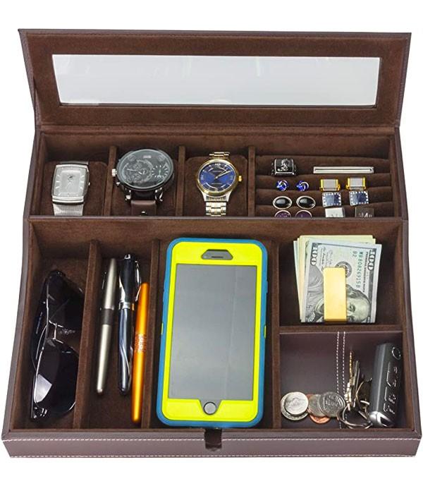 Houndsbay Navigator watch box for men