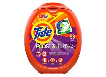 Tide Pods Spring Meadow Scent laundry detergent
