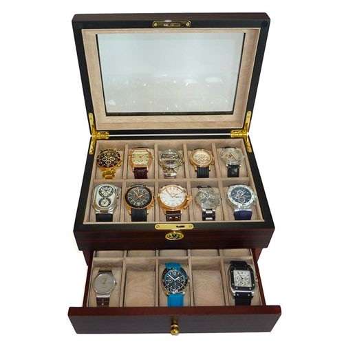 Timelybuys watch box for men