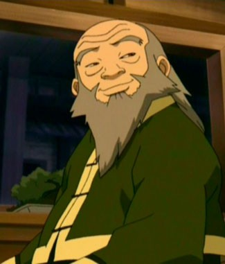 Uncle Iroh from Avatar The Last Airbender