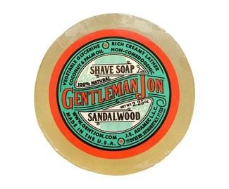 Gentleman Jon shave soap