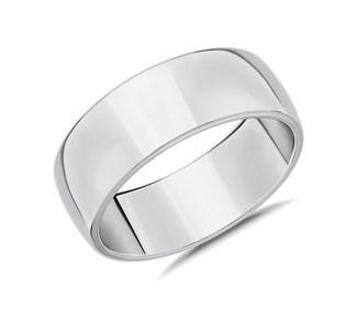 Skyline Comfort Fit Wedding Ring
