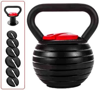 shanchar Adjustable Weight Kettlebell