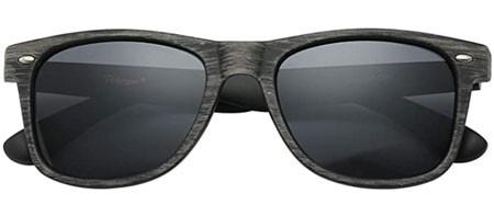 PolarSpex Retro Classic Wood Sunglasses