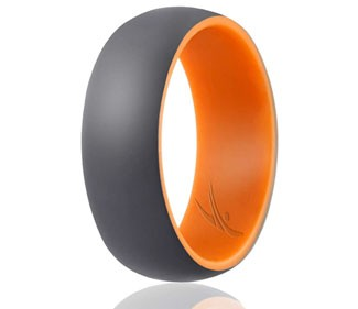 ROQ Silicone Wedding Ring for Men
