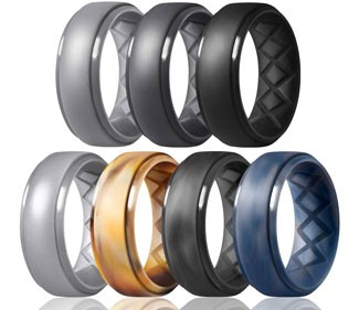 Inner Arc Ergonomic Breathable Silicone Bands