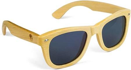 Viable Harvest Store Bamboo Wood Polarized Sunglasses