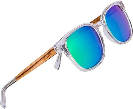 Woodies - Polarized Clear Acetate