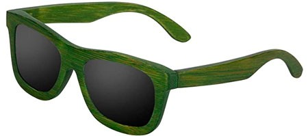 iShine Geren Bamboo Frame Sunglasses