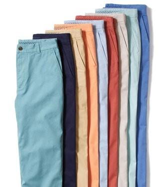 Colorful mens pants
