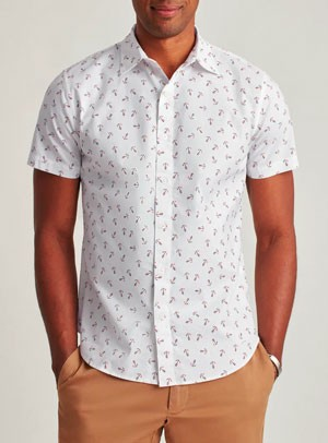Bonobos short sleeve summer shirt