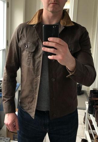 The Taylor Stitch Long Haul Jacket
