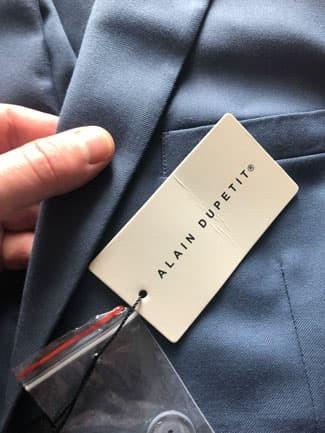 Close up of Alain Dupetit fabric