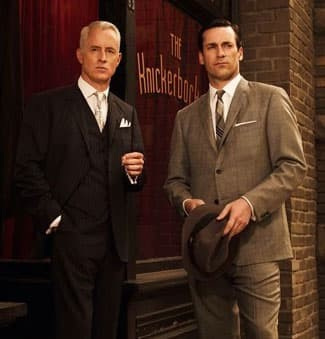 Roger Sterling and Don Draper from Mad Men