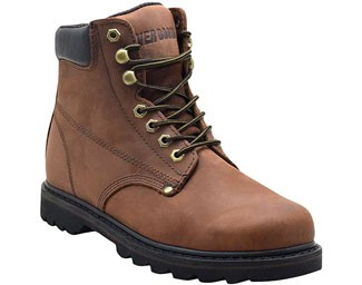 Ever Boots Tank Soft Toe Leather Work Boots