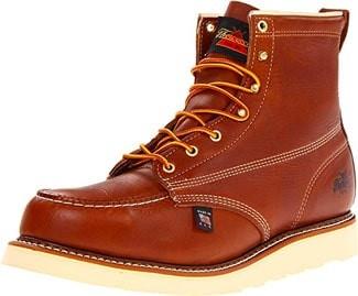 "Thorogood Men's American Heritage 6"" Moc Toe, MAXwear Wedge Safety Boots"