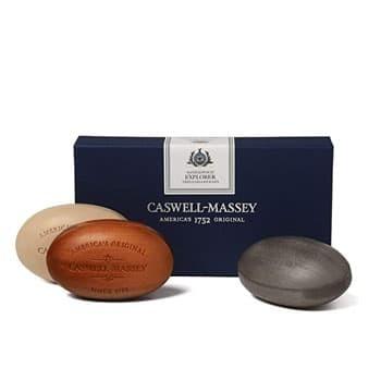 Caswell-Massey Triple Milled Luxury Bath Soap Men's Sandalwood Explorer