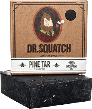 Dr Squatch Pine Tar soap bar