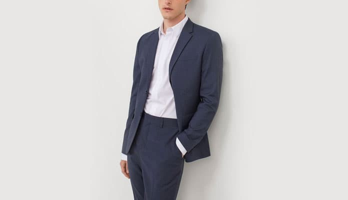 Uniqlo suit