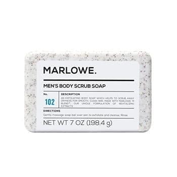MARLOWE. Men's Body Scrub Soap Bar