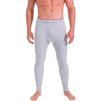 Fruit of the Loom Men's Classic Midweight Waffle Thermal Underwear Bottoms