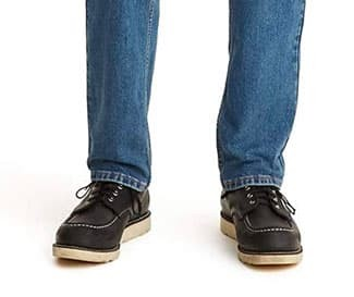 Jeans with boots