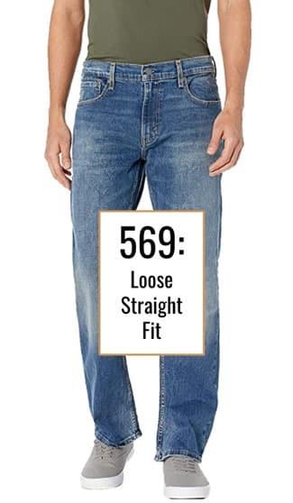 Levis 569 jeans