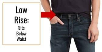 Levis 559 jeans seat