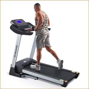 MaxKare Folding Treadmill