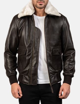 The Jacket Maker Airin G-1 Leather Bomber