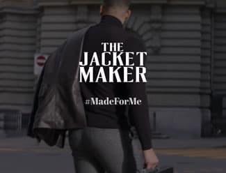 Screenshot from the Jacket Maker website