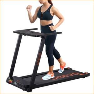 UREVO Portable Compact Treadmill