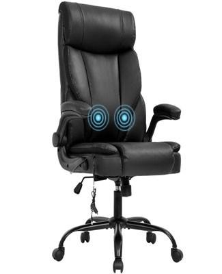 BestOffice Leather Massage Office Chair